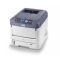 Цветной лазерный принтер OKI C711WT с белым тонером