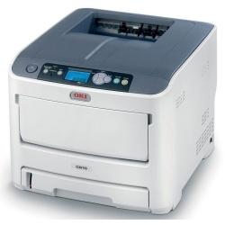 Цветной лазерный принтер OKI C612N