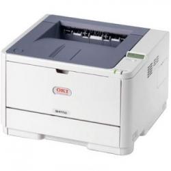 Принтер лазерный черно-белый OKI B432DN