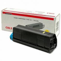 Тонер-картридж OKI TONER-Y-C5250-5K-NEU